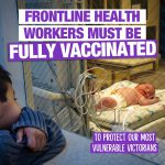 Some Victorians can't be vaccinated against infectious diseases.
