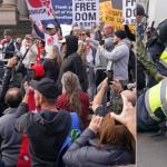 Melbourne protests: Violent scenes in Melbourne's CBD as coronavirus protesters are detained