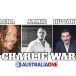 SACHA STONE, RICCARDO BOSI, AND JAMIE MCINTYRE DISCUSS AUSTRALIA WITH CHARLIE WARD