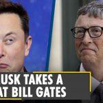 Elon Musk tweeted Bill Gates edited anti-vaccination cartoon | Musk posts edited political cartoon
