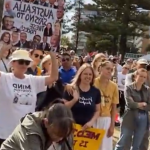 Millions March event against mandatory Bs19 vaxx